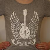 Adam Ďurica - Mandolina logo, Skinny, Grey, Vel. L