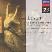 Liszt, Franz - Liszt Faust Symphony; Dante Symphony López-Cobos