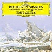 Beethoven, Ludwig van - BEETHOVEN Piano Sonatas Nos. 21, 23, 26 / Gilels