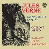 Jules Verne - Patnáctiletý kapitán, Ocelové město, Tajemný hrad v Karpatech (4CD, 2010)
