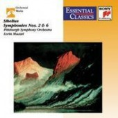 Jean Sibelius / Lorin Maazel - Symphonies Nos. 2 & 6 (Edice 2001)