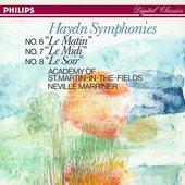 Antonio Vivaldi - Haydn: Symphonies Nos. 6, 7, & 8 - Academy of St.