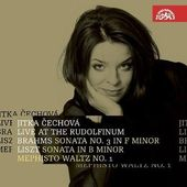 Brahms/Liszt/Jitka Čechová - Live At Rudolfinum/Sonáty a Mephisto Waltz KLASIKA
