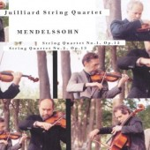 Felix Mendelssohn-Bartholdy / Juilliard String Quartet - Smyčcové Kvartety Č. 1, Op. 12 & Č. 2, Op. 13 (Edice 1999)