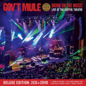 Gov't Mule - Bring On The Music - Live at The Capitol Theatre (2CD+2DVD, 2019)
