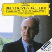 Beethoven, Ludwig van - BEETHOVEN Piano Sonatas Nos. 11 + 12 + 21 / Pollin