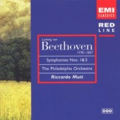 Ludwig Van Beethoven / Riccardo Muti - Symfonie Č. 1 / Symfonie Č. 5 - Osudová (Edice 1997)
