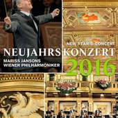 Vídeňští filharmonici - Novoroční Koncert 2016 (DVD)