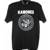 Ramones / Tričko (XL) - Tričko Ramones unisex černé vel. XL