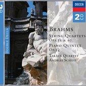Brahms, Johannes - Brahms String Quartets, opp.51 & 67 András Schiff