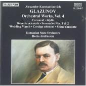 Alexander Konstantinovich Glazunov - Orchestral Works Vol. 4