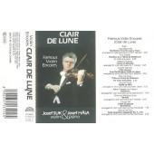 Josef Suk a Josef Hála - Clair De Lune - Famous Violin Encores (Kazeta, 1991)