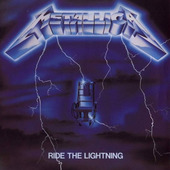 Metallica - Ride The Lightning (Edice 1989)