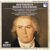 Beethoven, Ludwig van - BEETHOVEN Missa solemnis / Gardiner