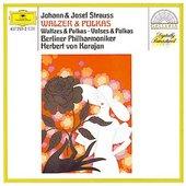 Strauss I + II, Johann - JOH./JOS. STRAUSS Walzer Polkas Karajan