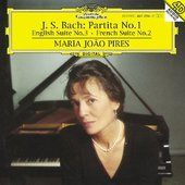 Maria Joao Pires - BACH Partita, English + French Suites /  Pires