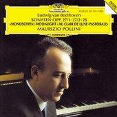 Beethoven, Ludwig van - BEETHOVEN Klavierson. 13,14,15 Pollini