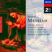 Handel, Georg Friedrich - Handel Messiah Ameling/Reynolds/Langridge/Howell