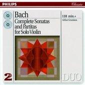 Arthur Grumiaux - J.S. Bach Sonatas and Partitas for Violin Solo, Ar