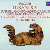 Puccini, Giacomo - PUCCINI Turandot / Sutherland, Pavarotti