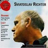 Johannes Brahms , Franz Liszt - Piano Sonata No.1 Op. 1 / Consolation Hungarian Rhapsody