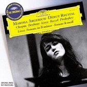 Martha Argerich - MARTHA ARGERICH Début Recital
