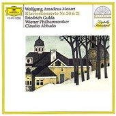 Mozart, Wolfgang Amadeus - MOZART Piano Concertos No. 20 + 21 / Gulda, Abbado