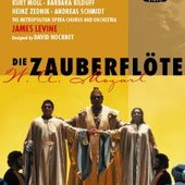 James Levine - Zauberflöte Levine DVD-VIDEO