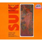 Josef Suk - Complete Chamber Works / Komorní dílo - komplet (3CD, 1993)