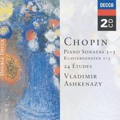 Chopin, Frédéric - Chopin Piano Sonatas 1 - 3 Vladimir Ashkenazy