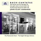Bach, Johann Sebastian - BACH Cantatas BWV 105,94,168 Gardiner