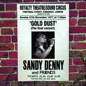 Sandy Denny - Gold Dust: Live at The Royalty