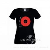Mirai - Tričko dámské černé skinny fit  (L)