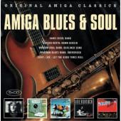 Various Artists - Amiga Blues & Soul (5CD, 2017)