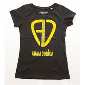 Adam Ďurica - AD Logo, Skinny, Black, Vel. XL