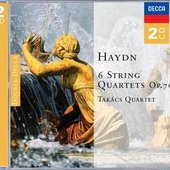 Haydn, Joseph - Haydn 6 String Quartets, op.76 Takács Quartet