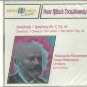 """Petr Iljič Čajkovskij / Vladimir Verbickij - Symfonie/Symphony No. 5, Op. 64 - Overture/Overture """"Der Sturm / The Storm"""""""