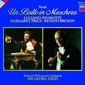 Verdi, Giuseppe - Verdi Un ballo in maschera Pavarotti Solti