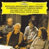 Beethoven, Ludwig van - BEETHOVEN Tripelkonz. Mutter Ma Karajan