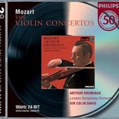 Mozart, Wolfgang Amadeus - Mozart Violin Concertos 1- 5 Arthur Grumiaux