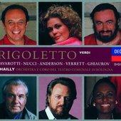 Verdi, Giuseppe - Verdi Rigoletto Anderson/Pavarotti/Nucci
