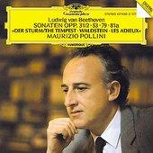 Beethoven, Ludwig van - BEETHOVEN Klavierson 17,21,25,26 Pollini