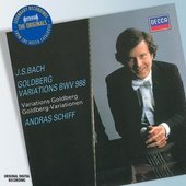 Schiff, András - J.S. Bach Goldberg Variations, András Schiff