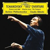 Tchaikovsky, Peter Ilyich - TCHAIKOVSKY Overture 1812, The Tempest / Abbado