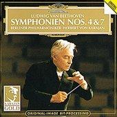 Beethoven, Ludwig van - BEETHOVEN Symphonien 4 + 7 Karajan