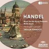Handel, Georg Friedrich - HANDEL Music for the Royal Fireworks Pinnock