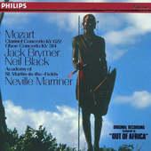 Wolfgang Amadeus Mozart - Koncert pro klarinet KV 622/Koncert pro hoboj KV 314