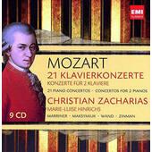 Wolfgang Amadeus Mozart - 21 Piano Concertos / Concertos For 2 Pianos (9CD, 2012)