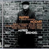 Alfred Brendel - ALFRED BRENDEL / Haydn / 4 Piano Sonatas / Mozart