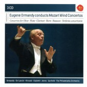 Wolfgang Amadeus Mozart - Eugene Ormandy Conducts Mozart Wind Concertos (3CD 2017)